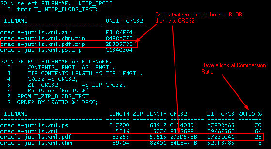 JDBMS_COMPRESS : Test ZIP/UNZIP BLOBs on dedicated test tables with virtual columns that use JDBMS functions, and verify that we retrieve the right initial BLOB. (5/6)